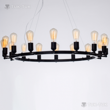 Люстра Circle lamp Pikart Lights 16 Цоколей фото