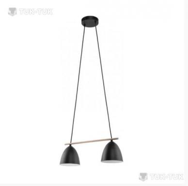 Подвес TK Lighting Aida BLACK 2xE27 фото