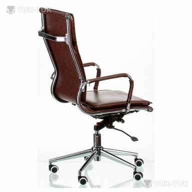 Кресло офисное Special4You Solano 4 artleather brown фото