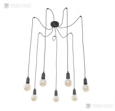 Подвес TK Lighting Qualle Grey х7 фото
