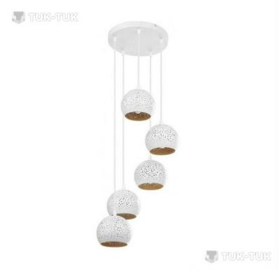 Люстра TK Lighting Brillo WHITE х5 фото