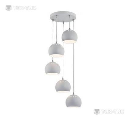 Люстра TK Lighting Yoda GREY х3 фото
