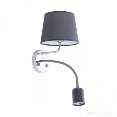Бра TK Lighting Maja LED GRAY Chrome *2 фото
