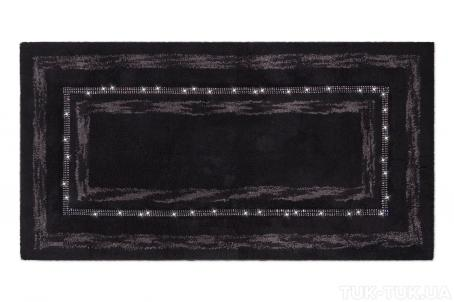 Килимок PHP Diamond Black 65x140 фото