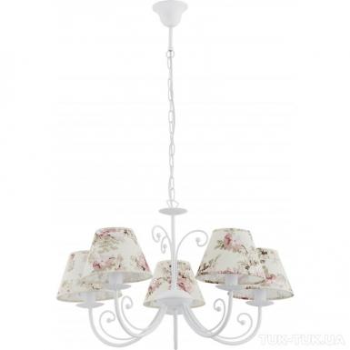 Люстра TK Lighting ROSA WHITE *5 фото